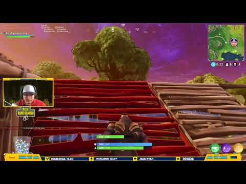 Fortnite Victory Royale as Thanos