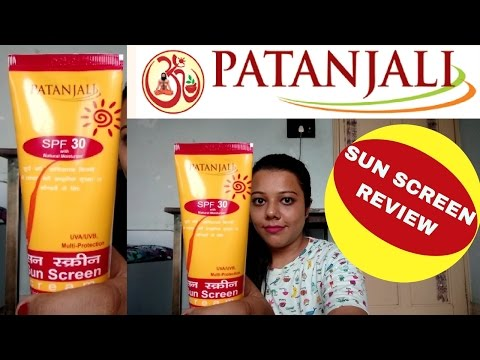 Patanjali Sun scree Review I To buy or not to buy?