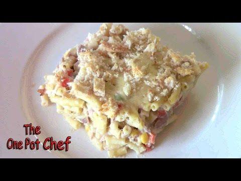 Tuna Macaroni Bake | One Pot Chef