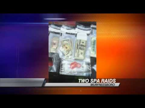 Police Serve Search Warrants at 2 Different Massage Businesses