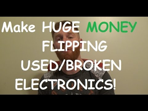How to make HUGE MONEY Selling Used or Broken Electronics on eBay!