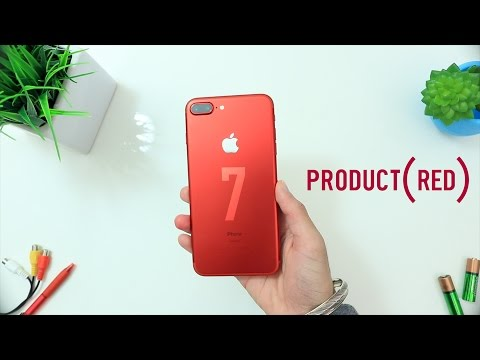 Why iPhone 7 Product RED has a White Front? - EXPLAINED