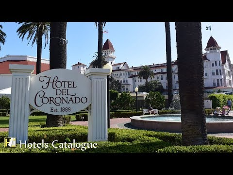 Hotel del Coronado Tours & Room Highlights - Coronado Hotel - San Diego Resorts