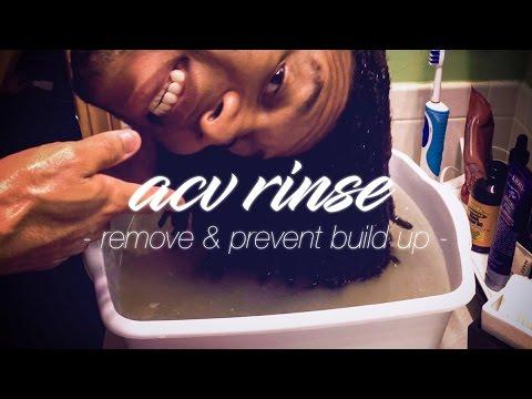 APPLE CIDER VINEGAR RINSE | Remove & Prevent Build Up