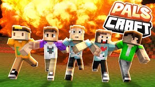 THE PALS CLUBHOUSE FAIL! | PalsCraft #5