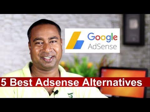 5 Best Google  Adsense Alternatives in 2018 !