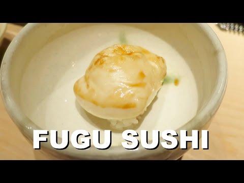 Fugu, Sushi & Grilled - Michelin Star Preparation