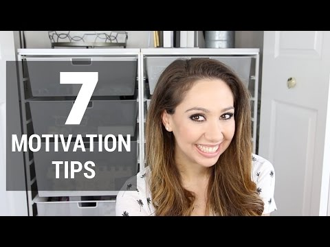 7 Motivation Tips: Organizing & Decluttering
