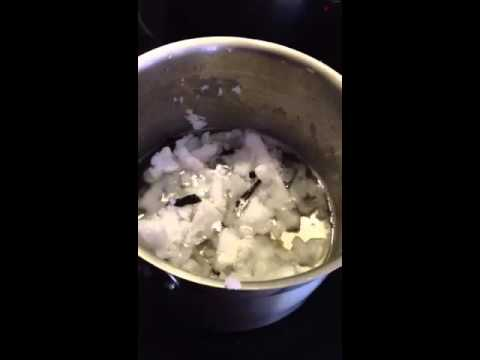 How to Make Vanilla infused Coconut Oil