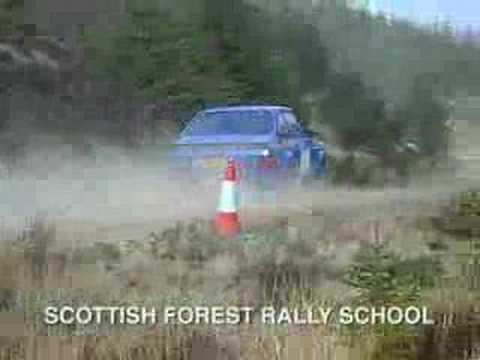 Scottish Forest Rally School