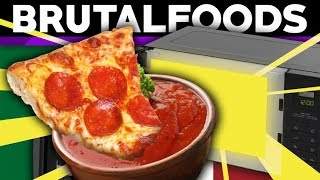 Hearty Pizza Dip - Retro Recipe Review - brutalfoods