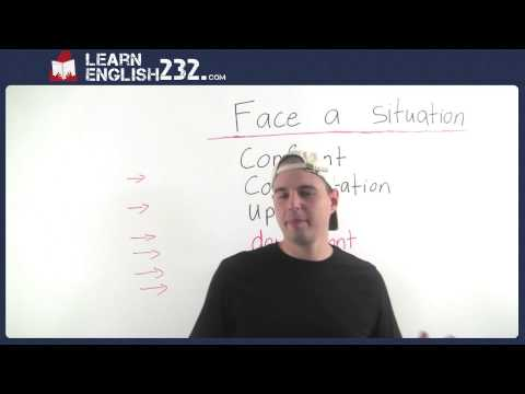 Learn how to describe things in English - Confront - Vocabulary Lesson 28