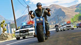 The Pursuit of Bikers - GTA 5 Action movie