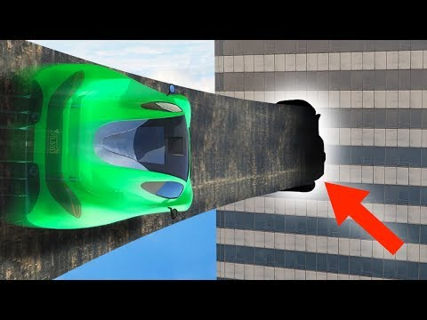 99.9% IMPOSSIBLE WALLRIDE THROUGH THE GAP! (GTA 5 Funny Moments)
