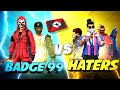 Badge99 vs Haters🔥 Red Custom Match Must Watch - Garena Free Fire