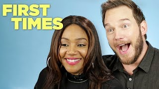 Download Chris Pratt and Tiffany Haddish Tell Us About Their First Times Video