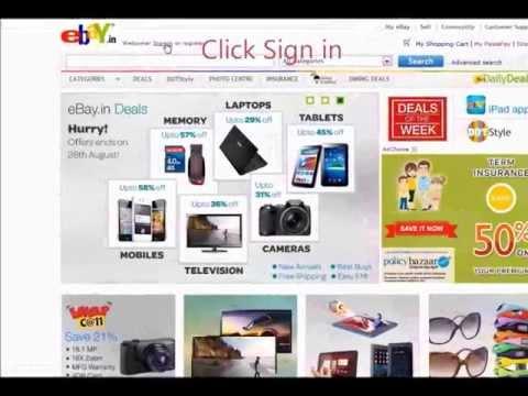 How to Reset your eBay Password