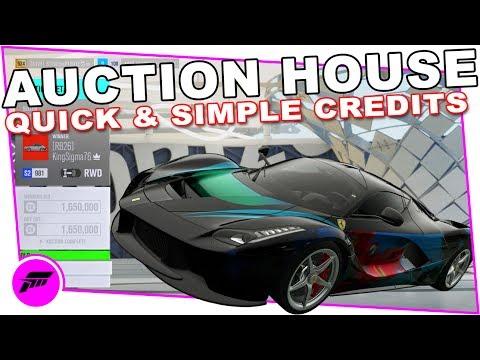 How I Play The Auction House (FORZA HORIZON 3) Easy Money!!!