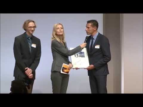 Preisverleihung des Energy Efficiency Awards 2014: Auszeichnung für Energieeffizienz.