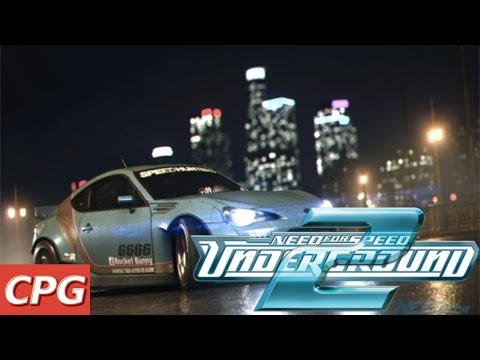 Need for Speed: Underground 2 Classic PC Gamplay 2018