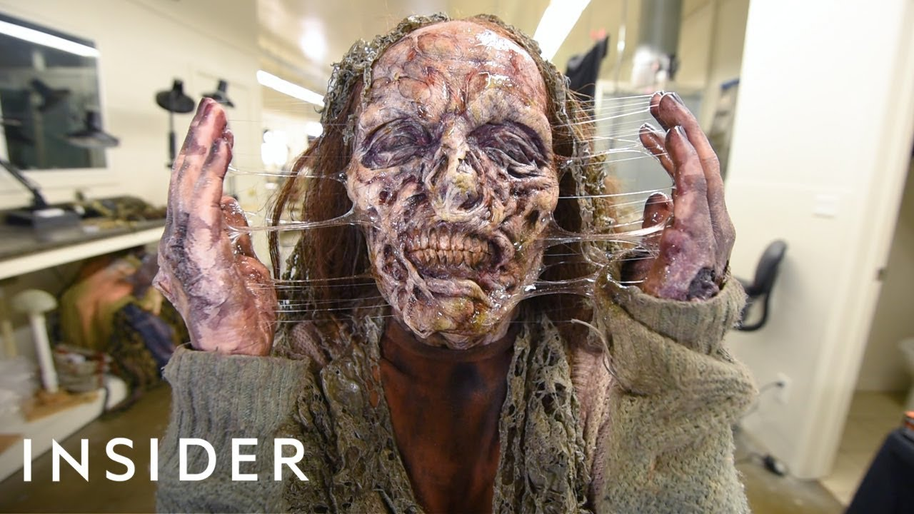 How A Hollywood Makeup Artist Turns Actors Into Zombies | Movies Insider