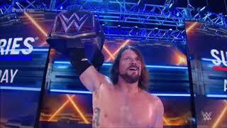 AJ Styles vs Brock Lesnar at Survivor Series 2017