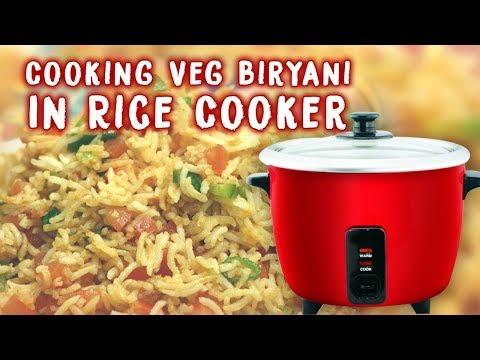 How To Cook Special Veg Biryani in Rice Cooker || Veg Biryani  || Crazy Foods|| Tasty Recipes