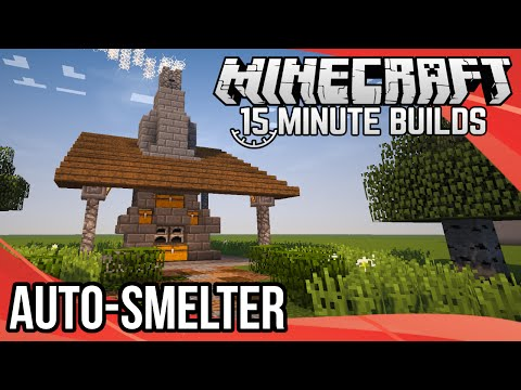 Minecraft 15-Minute Builds: Auto-Smelter