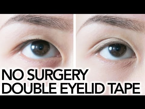 Get Double Eyelids Naturally (NO SURGERY) / Double Eyelid Tape || Sylvia Jade