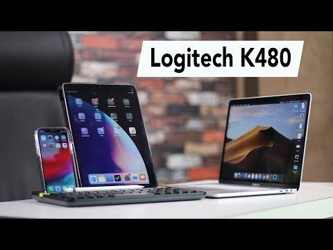 Logitech K480 Multi-Device Wireless Keyboard Review
