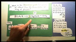 Calculating Theoretical Yield And Percent Yield In Chemistry