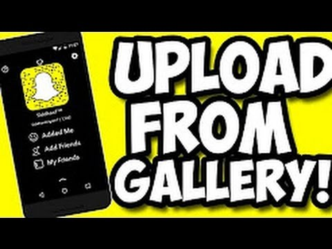How To Upload Videos to Snapchat Story from Camera Roll [ MYTECHSUPPORT]