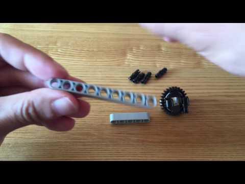 Building Grab and Lift Mindstorms EV3