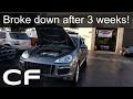 My Porsche Cayenne broke down on me ☹! (Bad Coil Packs)