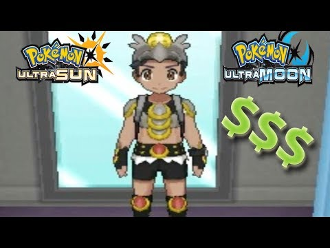 Pokemon Ultra Sun and Ultra Moon - Most Expensive Clothes!