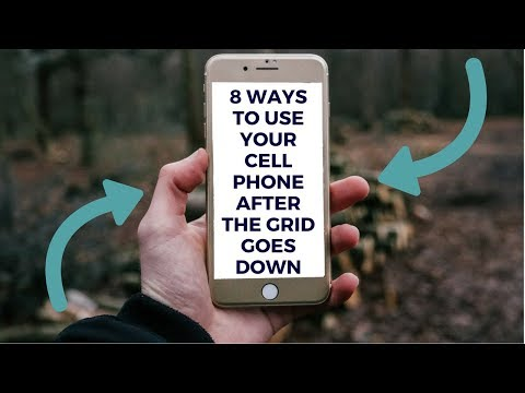8 Ways to Use a Smart Phone After the Grid Goes Down
