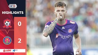 Highlights | Hải Phòng FC - Sài Gòn FC | Song sát rực sáng, tuyệt phẩm sút phạt | VPF Media