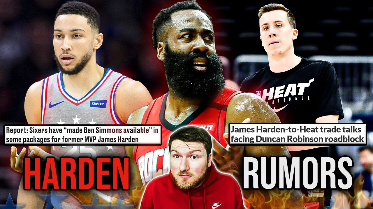 The James Harden Trade Rumors Are Heating Up...