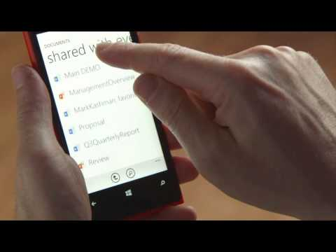 SharePoint 2013 - Mobile Application Overview