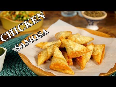 Chicken Samosa Recipe | Samosa Recipe |Nawabs Kitchen Chicken Samosa