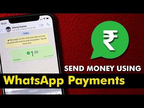 WhatsApp UPI Payments: Send Money using WhatsApp
