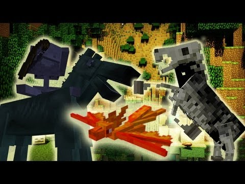 MineCraft 1.6 SnapShot 13w19a New Mobs, Undead Horses, Blocks!