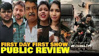 Saaho Movie PUBLIC REVIEW | First Day First Show | Prabhas, Shraddha Kapoor | Hindi
