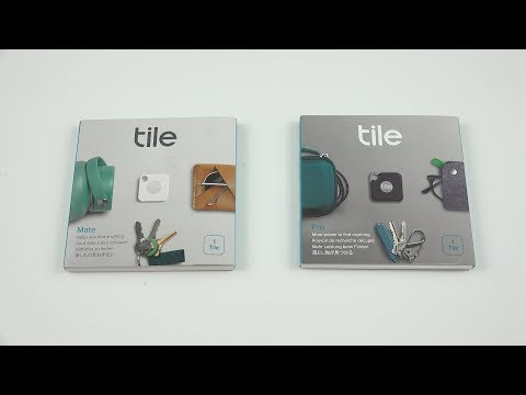 Tile Pro and Matte Unboxing and First Look! (Removable Batteries)