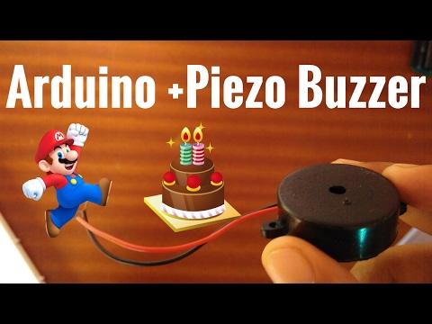 Piezo Buzzer with Arduino | Happy Birthay /Mario | RoboShala