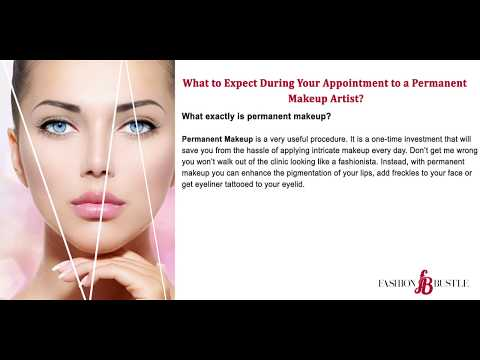 What to Expect During Your Appointment to a Permanent Makeup Artist?