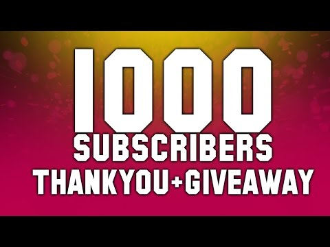 1000 Subscribers thank you ♥ GiveaWay Unbantool Minecraft 100 Like