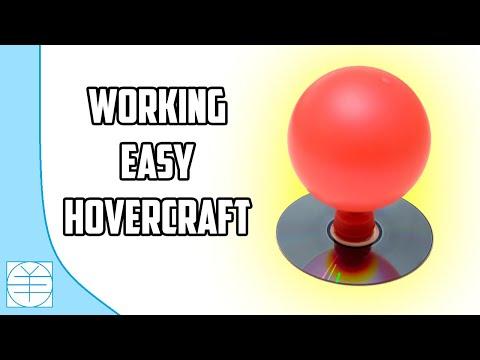 How to Make A Mini CD Hovercraft. (Full HD)