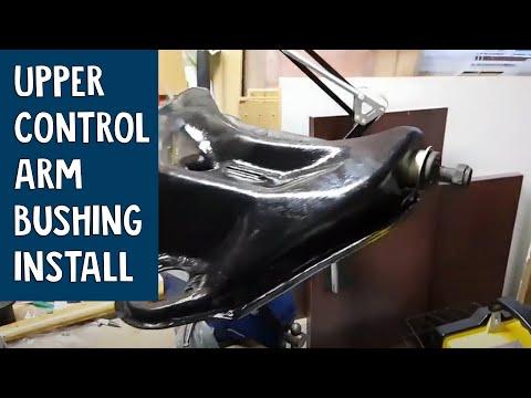Front Upper Control Arm Bushing Installation G Body