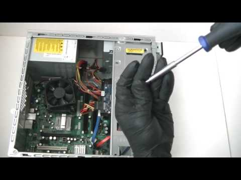 Dell Inspiron 530  DVD Drive How to Install Replace Upgrade Change